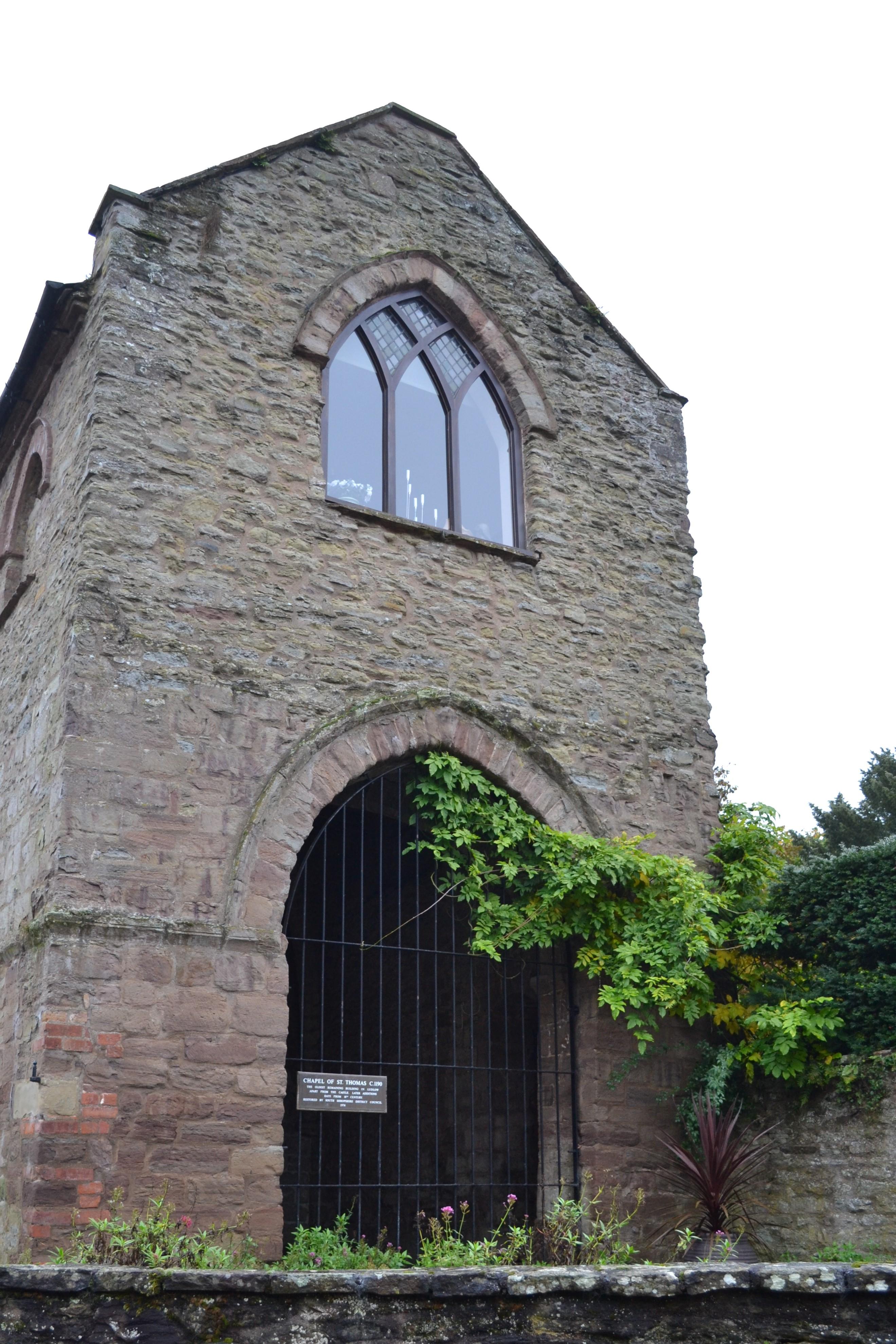 St Thomas's Chapel, Ludlow